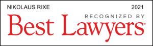 Logo - Best Lawyers - Nikolaus Rixe